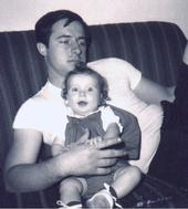 Dad and Gina 1968