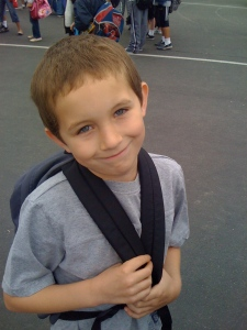 Josh - First Day of School